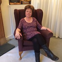 How often, how long and how much?. annie in consulting chair